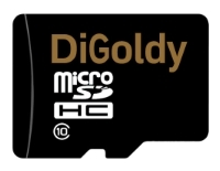 Digoldy microSDHC Class 10 + SD adapter