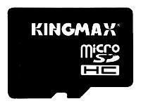 Kingmax microSDHC Class 4 + SD adapter
