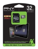 PNY Android microSDHC Class 10 + SD adapter