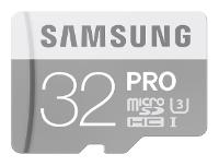 Samsung microSDHC PRO UHS-I U3 90MB/s + SD adapter