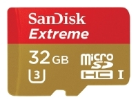 Sandisk Extreme microSDHC Class 10 UHS Class 3 90MB/s