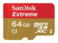 Sandisk Extreme microSDXC Class 10 UHS Class 1 45MB/s