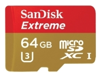 Sandisk Extreme microSDXC Class 10 UHS Class 3 60MB/s