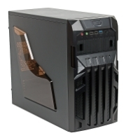 MAXcase PN523 w/o PSU Black/blue