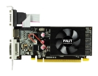 Palit GeForce 210 589Mhz PCI-E 2.0 512Mb 1250Mhz 32 bit DVI HDMI HDCP Black Cool