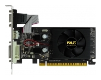 Palit GeForce 210 589Mhz PCI-E 2.0 512Mb 1250Mhz 32 bit DVI HDMI HDCP Black