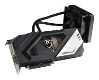 GIGABYTE GeForce GTX 980 Ti 1216Mhz PCI-E 3.0 6144Mb 7200Mhz 384 bit DVI HDMI HDCP WATERFORCE