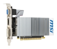 MSI GeForce 210 589Mhz PCI-E 2.0 512Mb 1000Mhz 64 bit DVI HDMI HDCP TurboCache