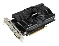 MSI GeForce GTX 750 Ti 1059Mhz PCI-E 3.0 2048Mb 5400Mhz 128 bit DVI HDMI HDCP