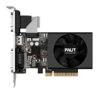 Palit GeForce GT 720 797Mhz PCI-E 2.0 1024Mb 1600Mhz 64 bit DVI HDMI HDCP