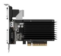 Palit GeForce GT 720 797Mhz PCI-E 2.0 2048Mb 1600Mhz 64 bit DVI HDMI HDCP Silent