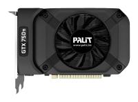 Palit GeForce GTX 750 Ti 1085Mhz PCI-E 3.0 2048Mb 5500Mhz 128 bit DVI Mini-HDMI HDCP