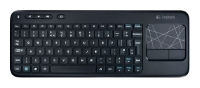 Logitech Wireless Touch Keyboard K400 Black USB