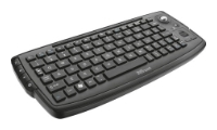 Trust Compact Wireless Entertainment Keyboard Black USB