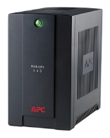 APC by Schneider Electric Back-UPS 500VA Standby with Schuko