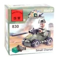Enlighten Brick CombatZones 830 Военный автомобиль